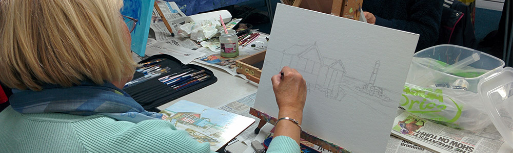 New Brighton Community Centre Art Class
